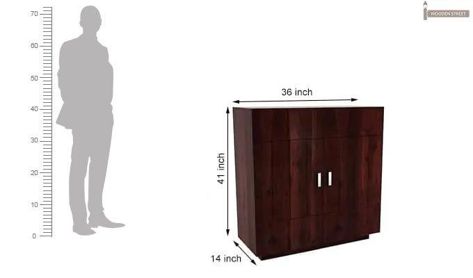 Gormley Bar Cabinet (Mahogany Finish)-8