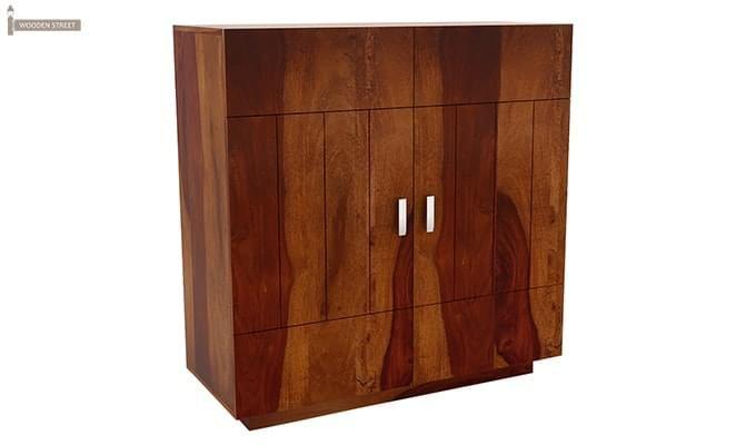 Gormley Bar Cabinet (Honey Finish)-2