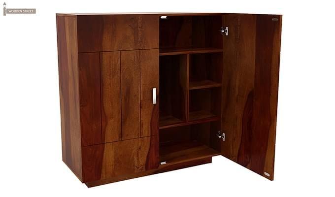 Gormley Bar Cabinet (Honey Finish)-3