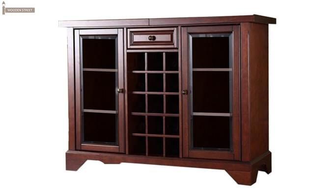 Grant Bar Cabinet (Honey Finish)-1