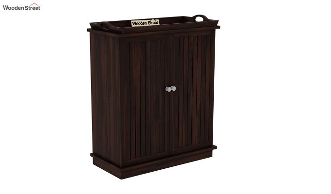 Hampton Bar Cabinet (Walnut Finish)-3