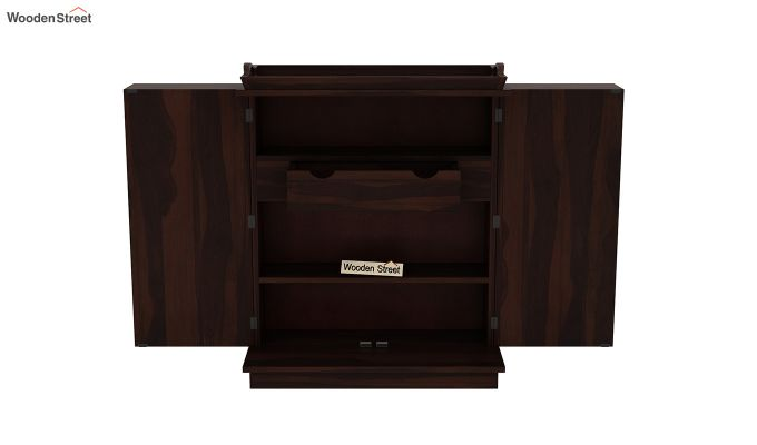 Hampton Bar Cabinet (Walnut Finish)-6