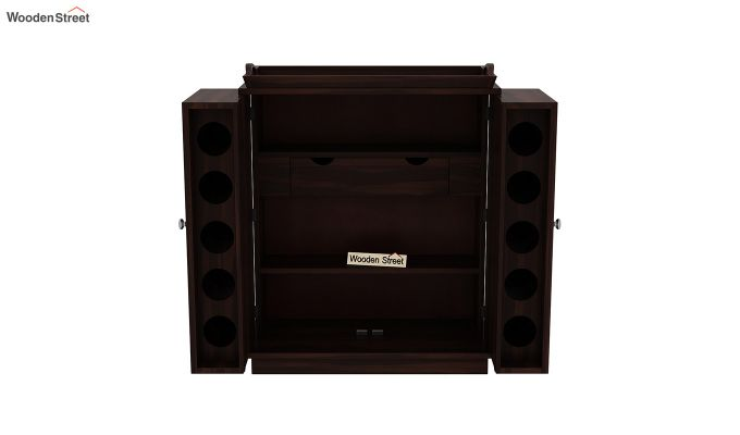 Hampton Bar Cabinet (Walnut Finish)-8