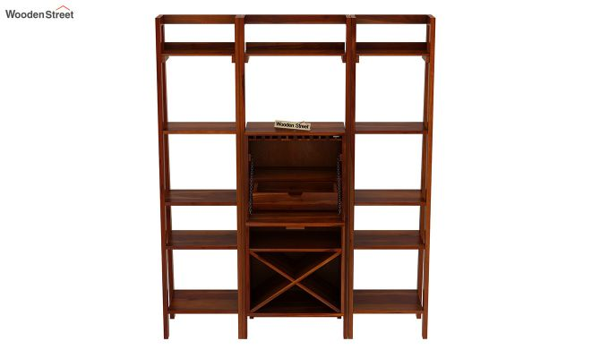Heather Bar Cabinet (Honey Finish)-6
