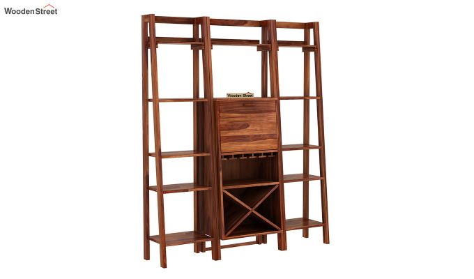 Heather Bar Cabinet (Teak Finish)-3