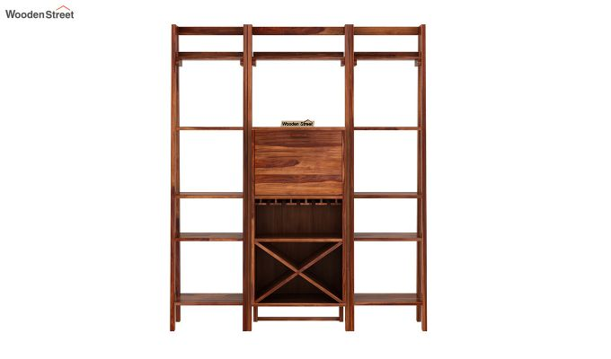Heather Bar Cabinet (Teak Finish)-4