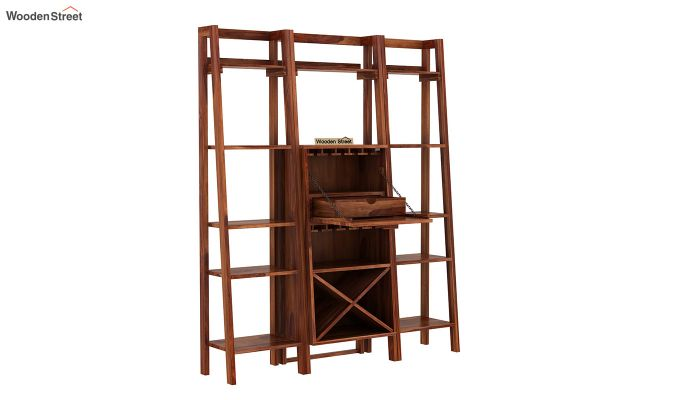 Heather Bar Cabinet (Teak Finish)-5
