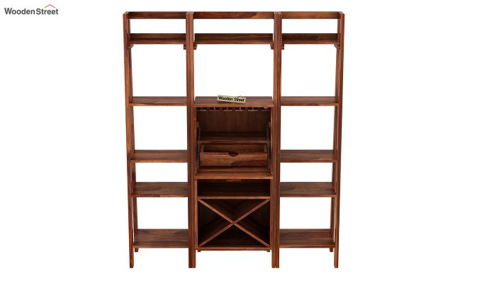 Heather Bar Cabinet (Teak Finish)-6