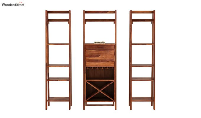 Heather Bar Cabinet (Teak Finish)-9