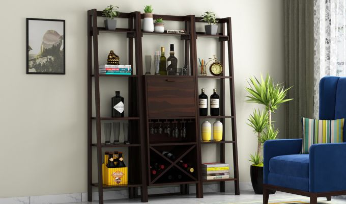 Heather Bar Cabinet (Walnut Finish)-1