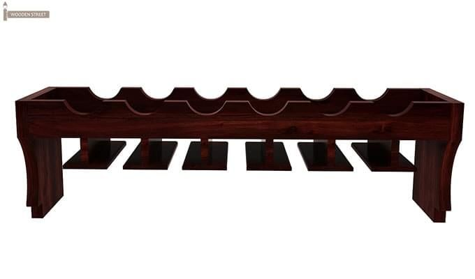 Hobart Wine Rack (Mahogany Finish)-3