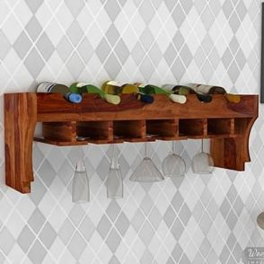 Wine Rack Buy Wooden Wine Racks Online In India Upto 55 Discount