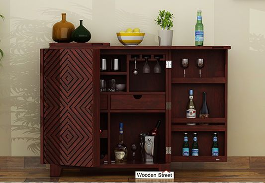 Best Bar Cabinet design online India