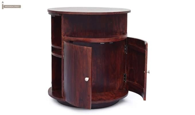Jestin Bar Cabinet (Walnut Finish)-3