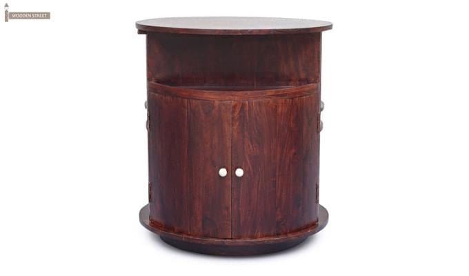 Jestin Bar Cabinet (Walnut Finish)-4