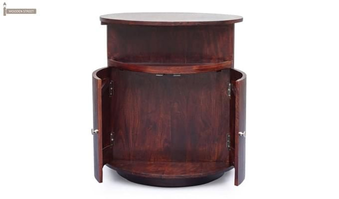 Jestin Bar Cabinet (Walnut Finish)-5