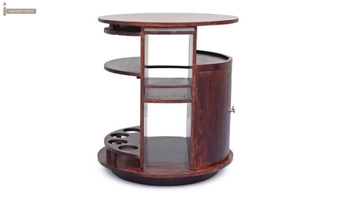 Jestin Bar Cabinet (Walnut Finish)-9