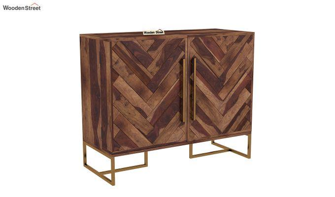 Jett Bar Cabinet (Teak Finish)-2