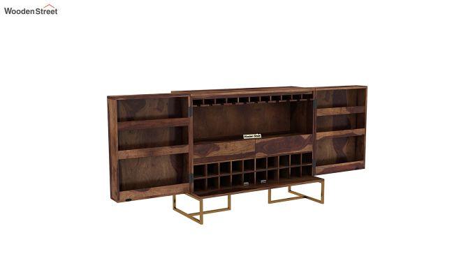 Jett Bar Cabinet (Teak Finish)-4