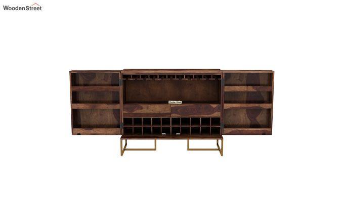 Jett Bar Cabinet (Teak Finish)-5