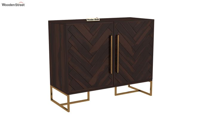 Jett Bar Cabinet (Walnut Finish)-2