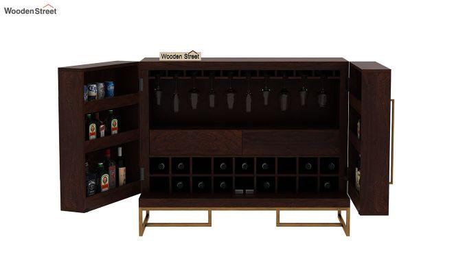 Jett Bar Cabinet (Walnut Finish)-5