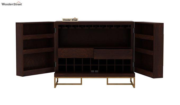 Jett Bar Cabinet (Walnut Finish)-7