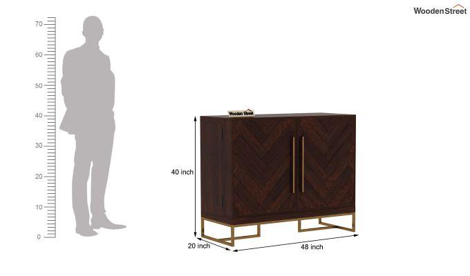 Jett Bar Cabinet (Walnut Finish)-9