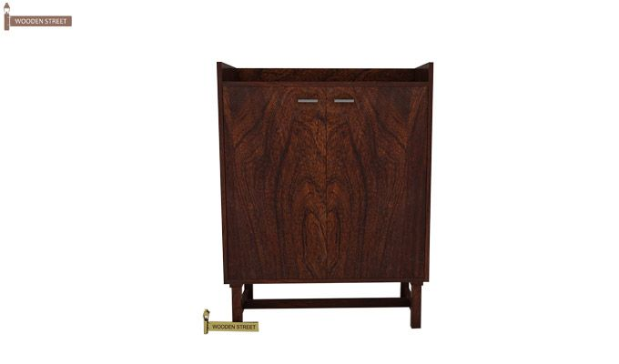 Keinz Bar Cabinet (Walnut Finish)-2
