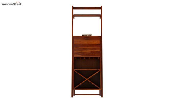 Loire Bar Cabinet (Honey Finish)-4