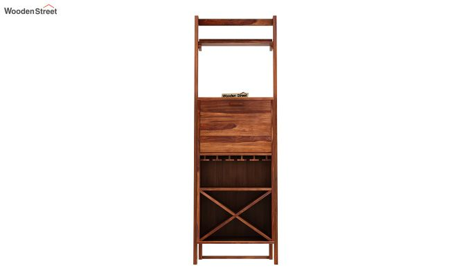 Loire Bar Cabinet (Teak Finish)-4