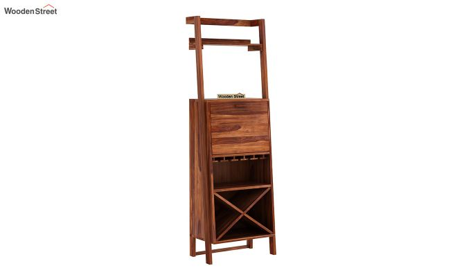 Loire Bar Cabinet (Teak Finish)-5