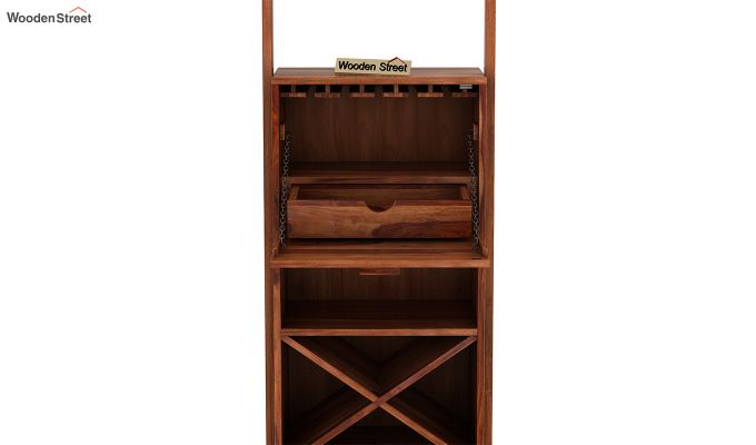 Loire Bar Cabinet (Teak Finish)-6