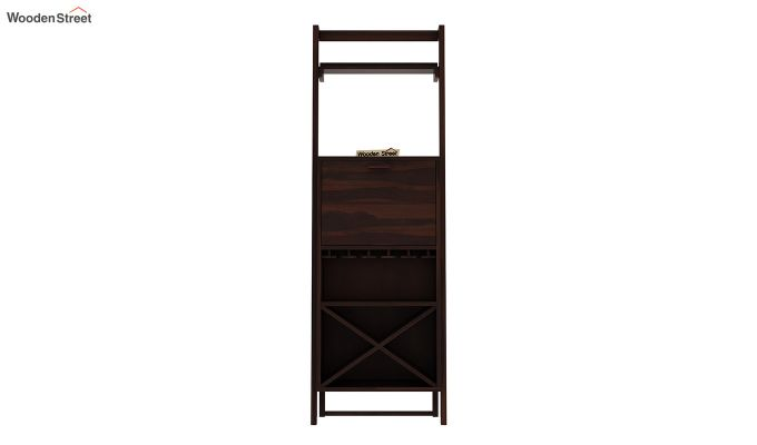 Loire Bar Cabinet (Walnut Finish)-4