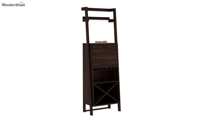 Loire Bar Cabinet (Walnut Finish)-5