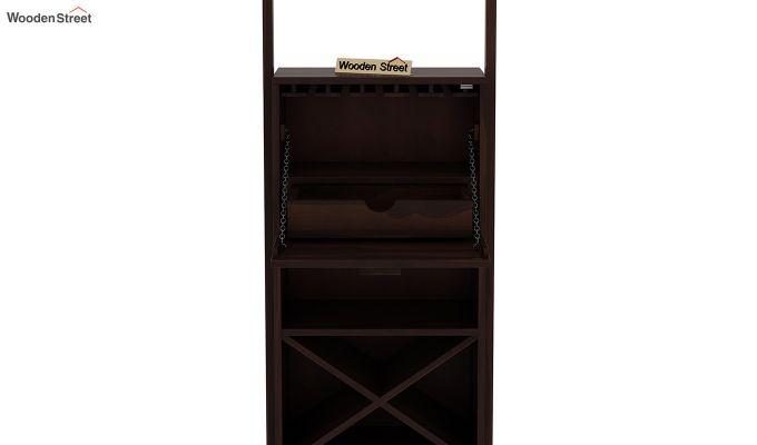 Loire Bar Cabinet (Walnut Finish)-6
