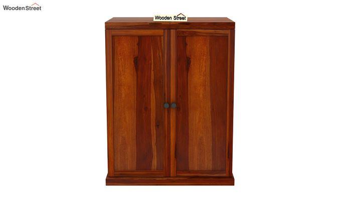 Loreto Bar Cabinet (Honey Finish)-4