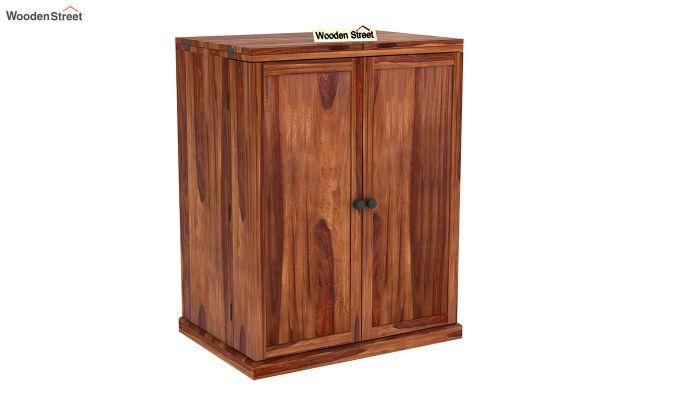 Loreto Bar Cabinet (Teak Finish)-3