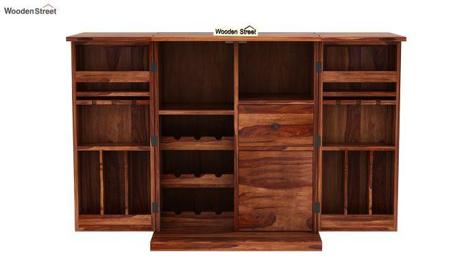 Loreto Bar Cabinet (Teak Finish)-6