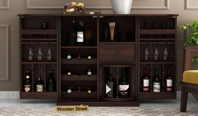 Loreto Bar Cabinet (Walnut Finish)-2