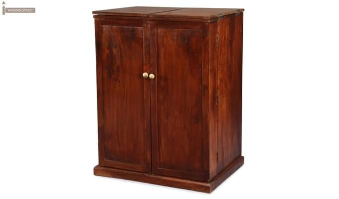 Loreto Bar Cabinet (Honey Finish)-1