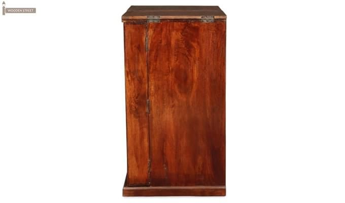 Loreto Bar Cabinet (Honey Finish)-5