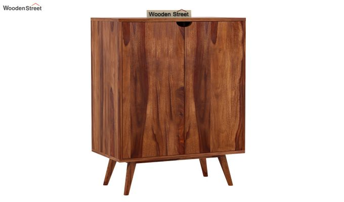 Lynton Bar Cabinet (Teak Finish)-5