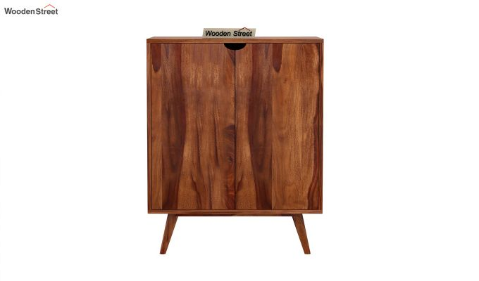 Lynton Bar Cabinet (Teak Finish)-6