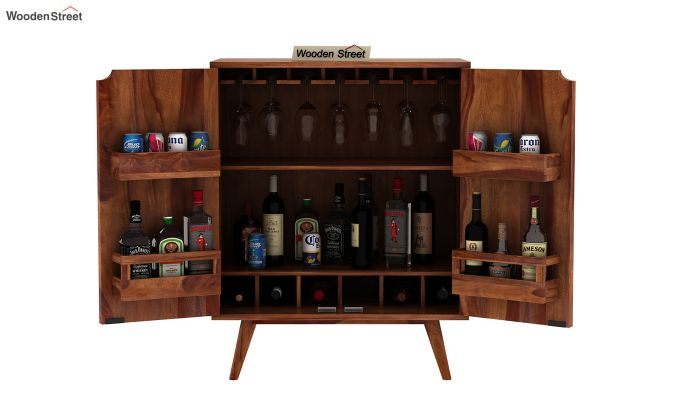 Lynton Bar Cabinet (Teak Finish)-8