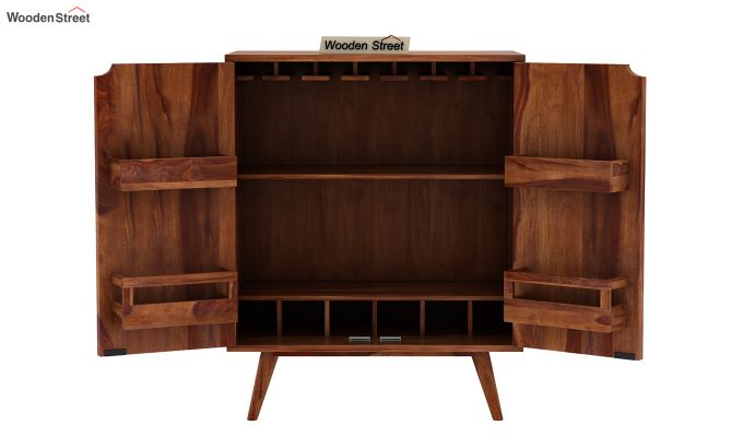 Lynton Bar Cabinet (Teak Finish)-10