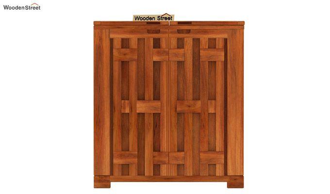 Malus Bar Cabinet (Honey Finish)-5