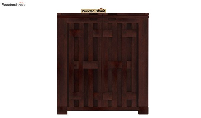 Malus Bar Cabinet (Walnut Finish)-4