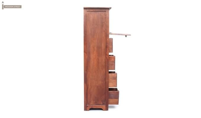 Marc Bar Cabinet (Honey Finish)-3