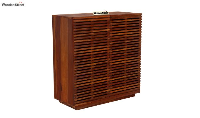 Milo Bar Cabinet (Honey Finish)-3